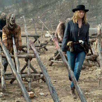 """Fear the Walking Dead Season 6 """"J.D."""" Opener: Morgan Unloads on June"""