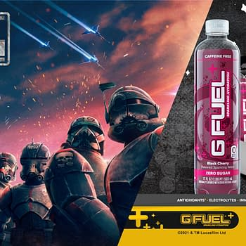 G Fuel Releases Sparkling Hydration For Star Wars: The Bad Batch