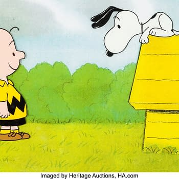 Snoopy Can Come Home With This Original Production Cel