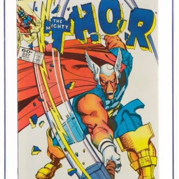First Appearance of Beta Ray Bill in Thor #337 Up for Auction
