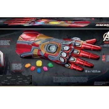 Hasbro Announces Marvel Legends Replica Iron Man Nano Gauntlet