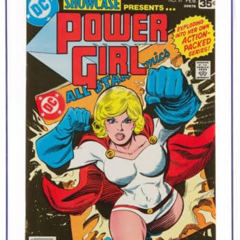 Showcase #97: First Power Girl Solo Comic Up for Auction
