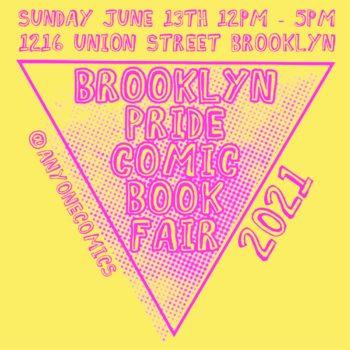 Brooklyn To Host Pride Comic Book Street Fair On June 13th