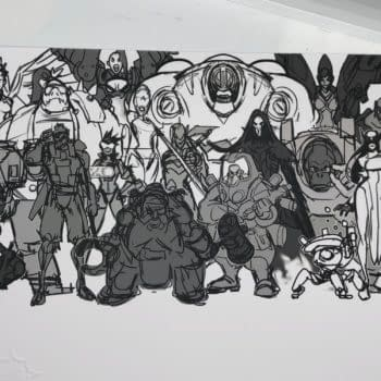 We Take A Look At The Overwatch Concept Art Sketch From Blizzard
