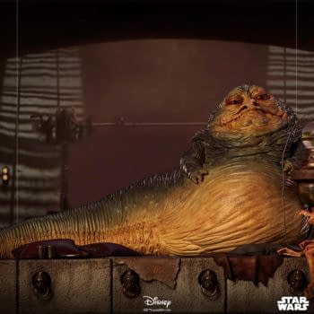 Iron Studios Debuts New Star Wars Statue With Jabba the Hutt