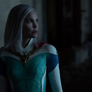 Jupiters Legacy Star Leslie Bibb on Respecting Lady Libertys Role