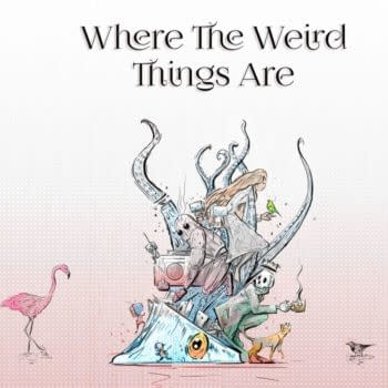 Where The Weird Things Are – 15 Years Of Process by Lewis Campbell