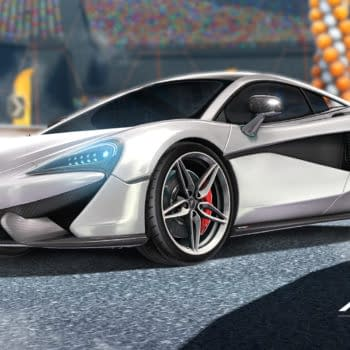 The McLaren 570S Will Be Returning To Rocket League
