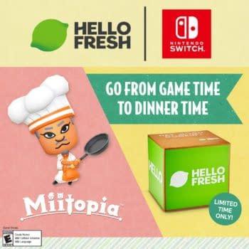 Miitopia & HelloFresh Partner Up For A Special Sweepstakes