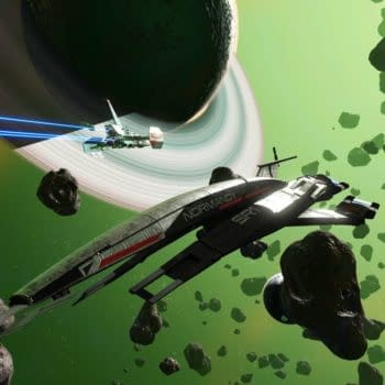 Mass Effect's Normandy Ship Appears In No Man's Sky