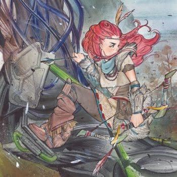 First Look Inside Peach Momoko's Horizon ZeroDawn Poster Portfolio
