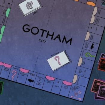 The Other History Of The DC Universe Gives Us a Gotham Monopoly Board