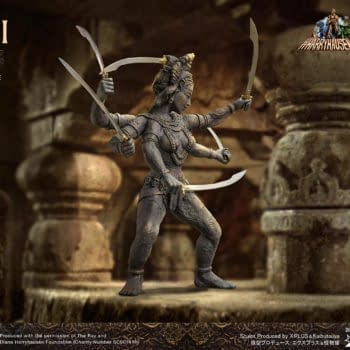Star Ace Toys Debuts Ray Harryhausen Stop Motion Kali Statue
