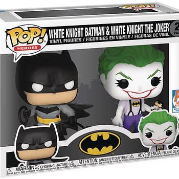 SDCC 2021 Exclusives: White Knight: Batman Funko POP &#038 GI JOE Pins