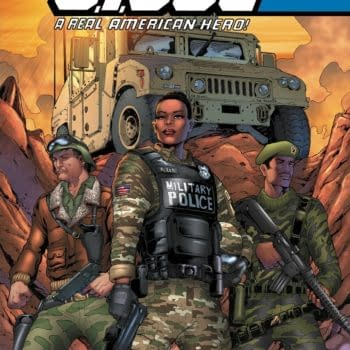 Cover image for GI JOE A REAL AMERICAN HERO #281 CVR A ANDREW GRIFFITH