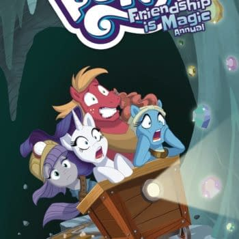 Cover image for MY LITTLE PONY FRIENDSHIP IS MAGIC 2021 ANNUAL CVR A BRIANNA
