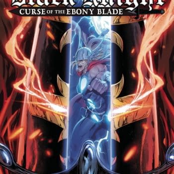 Cover image for BLACK KNIGHT CURSE EBONY BLADE #3 (OF 5)