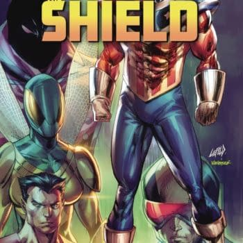 David Gallaher Now The Writer Of Rob Liefeld's The Shield.
