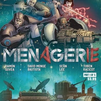 Cover image for MENAGERIE #1 (OF 5) CVR A BAUTISTA