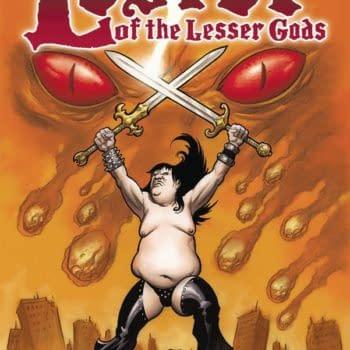 Cover image for LESTER OF THE LESSER GODS ONE SHOT CVR A POWELL