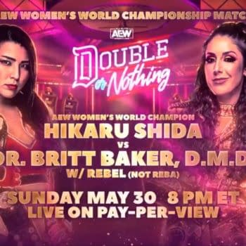 At AEW Double or Nothing, Britt Baker will challenge Hikaru Shida for the AEW Women's Championship