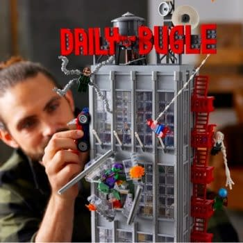 "LEGO Reveals Massive 32"" Spider-Man Daily Bugle Building Set"