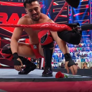 Angel Garza has a horrible idea on WWE Raw