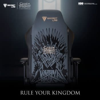 Secretlab & Warner Bros. Present An Iron Throne Gaming Chair