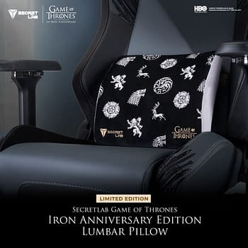 Secretlab and Warner Bros. Present An Iron Throne Gaming Chair