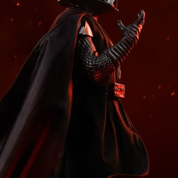Darth Vader Embraces The Dark Side With Sideshow Collectibles