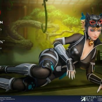 Catwoman Joins Batman in Feudal Japan With Star Ace Toys New Figure
