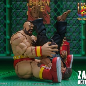 Street Fighter Zangief Fights for Russia With Storm Collectibles