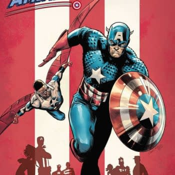 United States of Captain America #1 variant cover by Carmen Carnero
