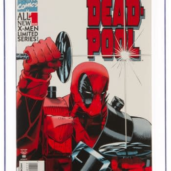 A Graded Copy of Marvel's Deadpool #1 is Just a Click Away