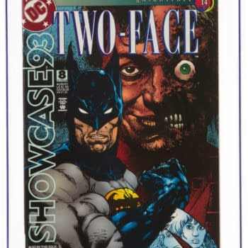 Place Your Bid on Two-Face in DC's Showcase #8