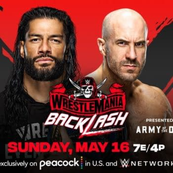 WWE WrestleMania Backlash Match Graphic: Roman Reigns vs. Cesaro for the Universal Championship