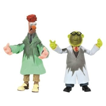 The Muppets Beaker and Bunsen Get DST Exclusive Figures For SDCC