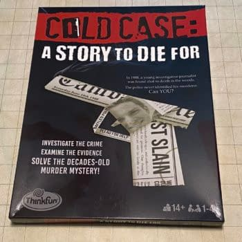 REVIEW: Cold Case: A Story To Die For, A ThinkFun True Crime Game