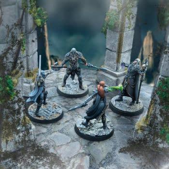 Modiphus Releases Elder Scrolls Online Cinematic Heroes Miniatures