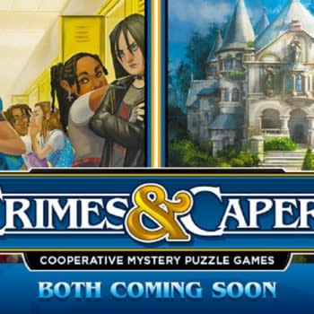 Renegade Game Studios Announces Crimes & Capers Mystery Series