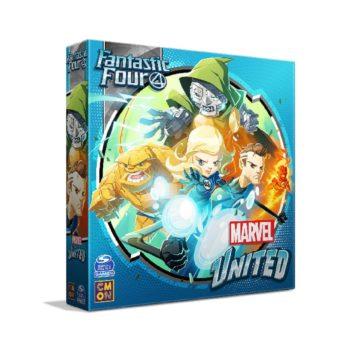 Marvel United Adds Fantastic Four Expansion To X-Men Kickstarter