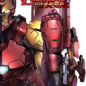 Bandai and Marvel Create Tech-On Avengers
