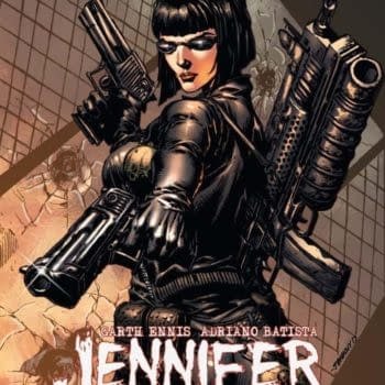 Garth Ennis' Jennifer Blood To Join Ash Williams in Die!Namite Lives