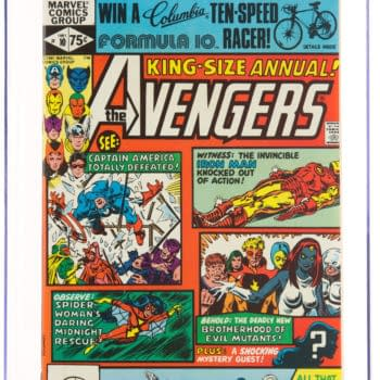 Who Won The Columbia 10-Speed Racer On Avengers Annual #10?