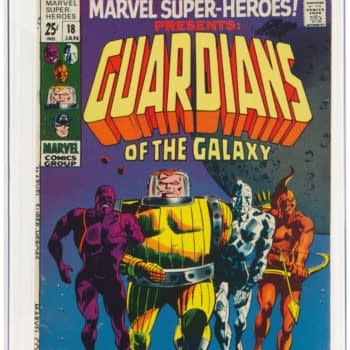 First Guardians Of The Galaxy, Marvel Super-Heroes #18, At Auction