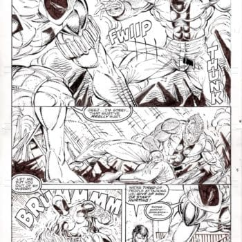Deadpool Original Rob Liefeld Artwork Sells for $200K