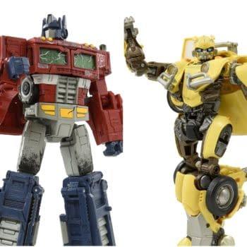 New Premium Transformers Bumblebee and Optimus Prime Figures Arrive