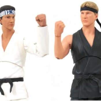 Cobra Kai Shows No Mercy With Diamond Select SDCC Exclusive