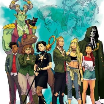 Runaways #38 cover byKris Anka for the 100th issue of Runaways, hitting comic book shops from Marvel Comics on August 11th, 2021.