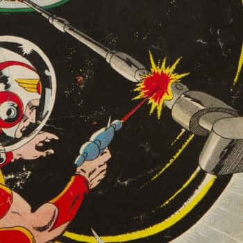 Showcase #17 featuring Adam Strange, DC Comics 1958.